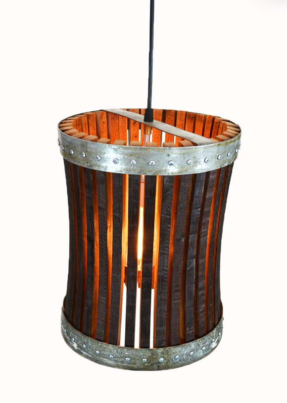 CRAFTSMAN Collection - Pannier - Wine Barrel Pendant Light
