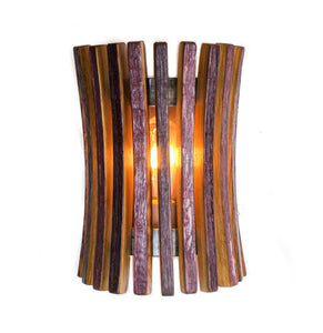 CRAFTSMAN Collection - Mokuton - Wine Barrel Wall Sconce