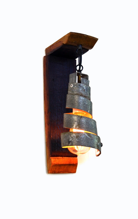 CORBA Collection - Petite - Wine Barrel Wall Sconce