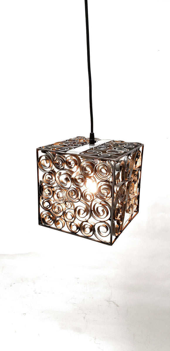 DERVISH Collection - Teningur - Wine Barrel Ring Pendant Light