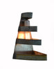 LOFT Collection - Right Angle - Wine Barrel Ring Wall Sconce