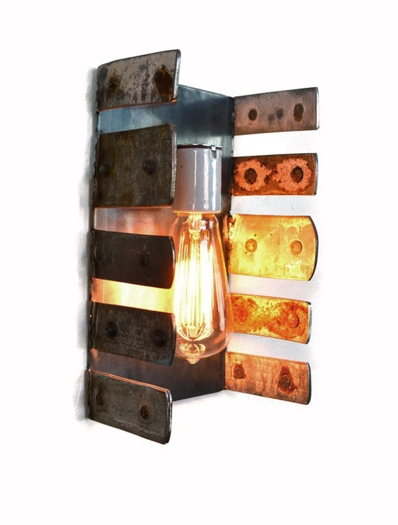 LOFT Collection - Aperto - Reclaimed Wine Barrel Ring Wall Sconce