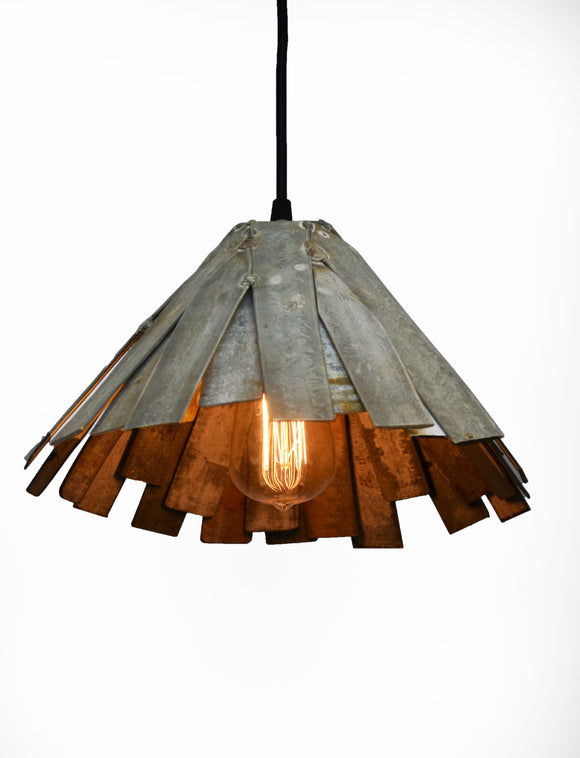 RAVINA Collection - Kazo  - Wine Barrel Ring Pendant Light