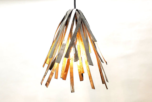 RAVINA Collection - Koriko Pendant Light - Made from salvaged California wine barrel rings - 100% Recycled & Free US Shipping!