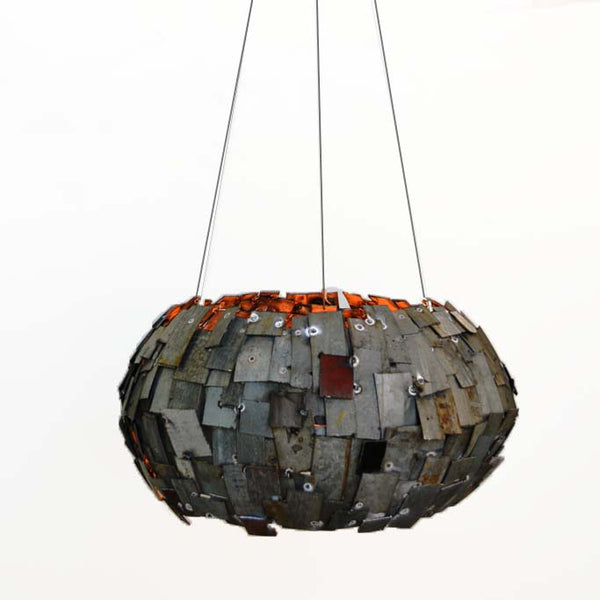 STUDIO Collection - Satellite - Wine Barrel Ring Chandelier