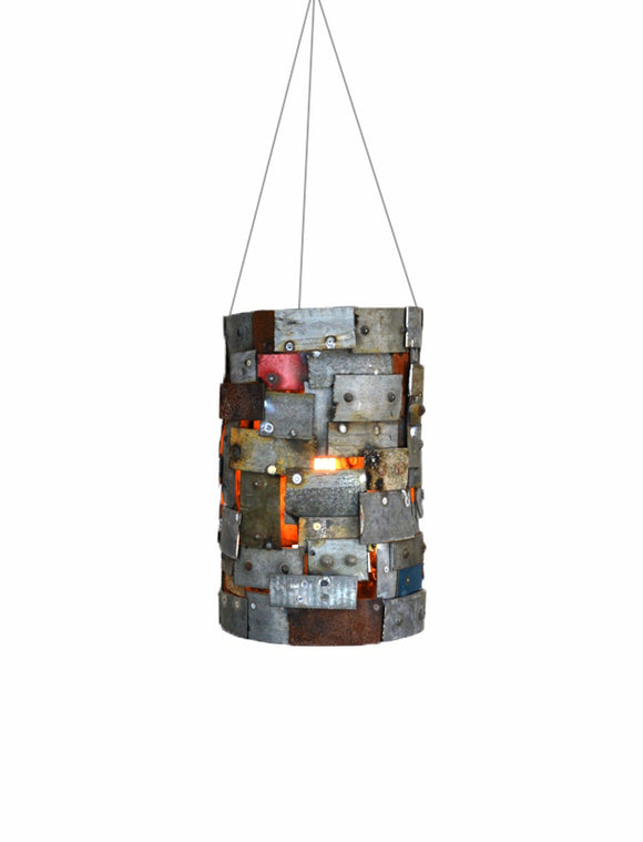 STUDIO Collection - Reliquary - Wine Barrel Ring Chandelier