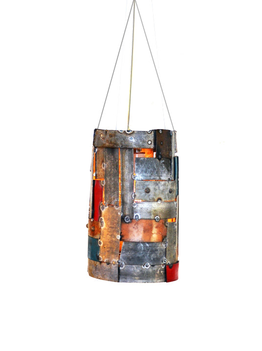 STUDIO Collection - Mini Mad Max -  Wine Barrel Ring Pendant Light