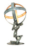 WINE BOT Collection - Atlas Shrugged - Wine Barrel Ring Desk Lamp
