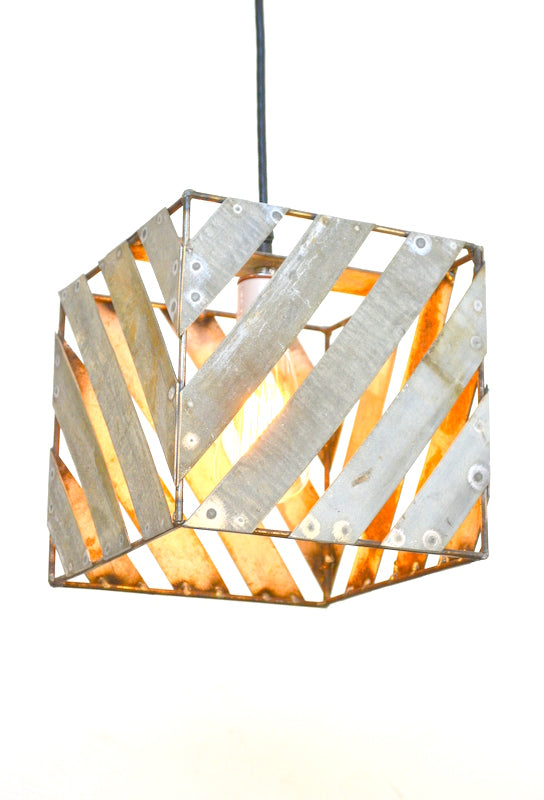 FINO Collection - Kostka - Wine Barrel Ring Pendant Light