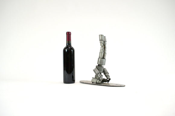 WINE BOT Collection - Tandha - Paddle board Wine Barrel Ring Wine Bot - 100% Recycled & Free US Shipping