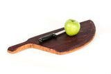 The  Safia - Wine Barrel Head Charcuterie or Cutting Board