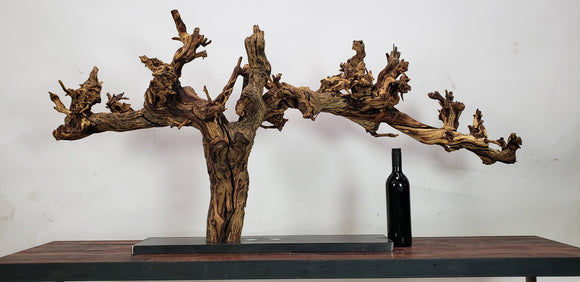Grape Vine Art From Rutherford Winery - made from retired Napa Cabernet grapevine - 100% Recycled and Reclaimed Free Shipping (US Only)