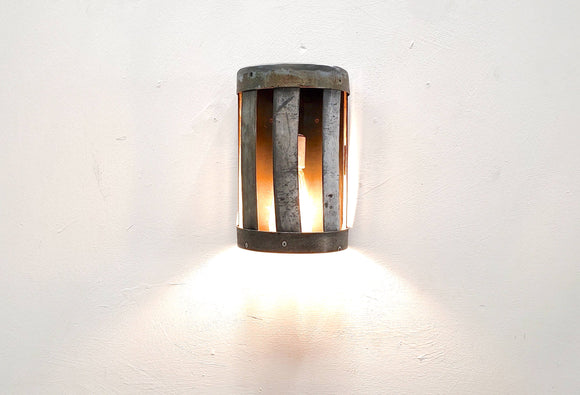 LOFT Collection - Zaper - Retired Wine Barrel Ring Wall Sconce