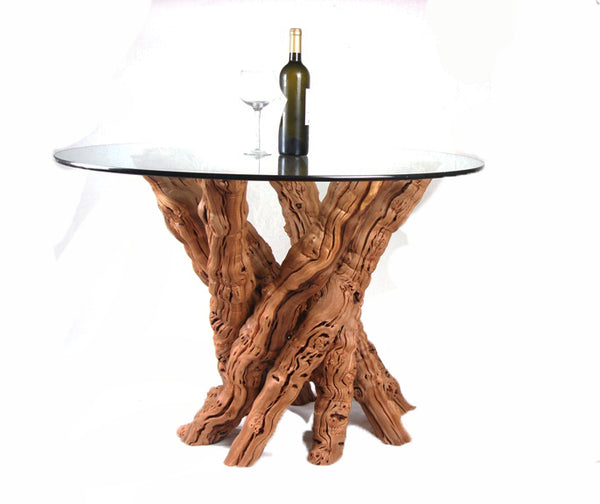 "VINYA Collection - ""Calabrese"" - Old Vine -  Grapevine Dining Table"