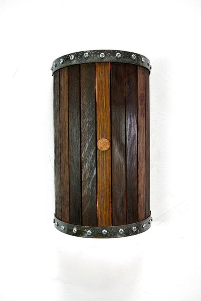 CRAFTSMAN Collection - Nantu - Wine Barrel Wall Sconce