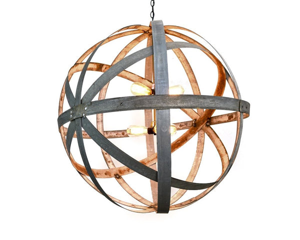 ATOM Collection - Colossus -  Barrel Ring Chandelier