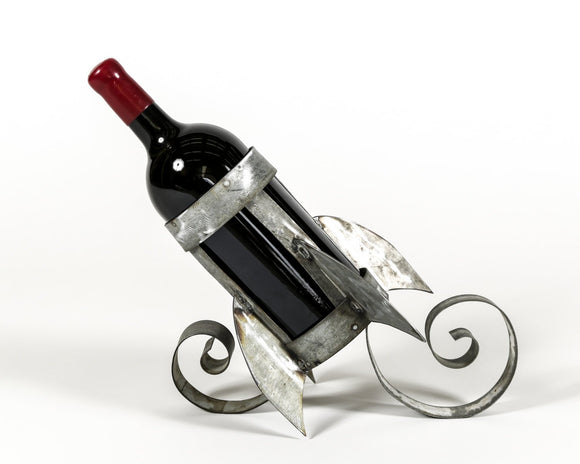 The Rocket - Barrel Ring Wine Bottle