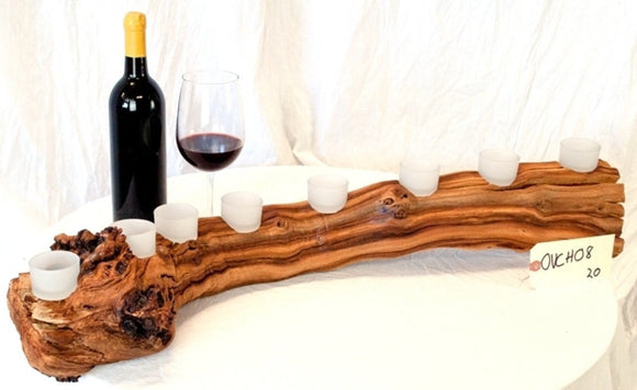 Novem - Old Vine Grapevine Candle Holder - 7 candles - 100% Recycled!