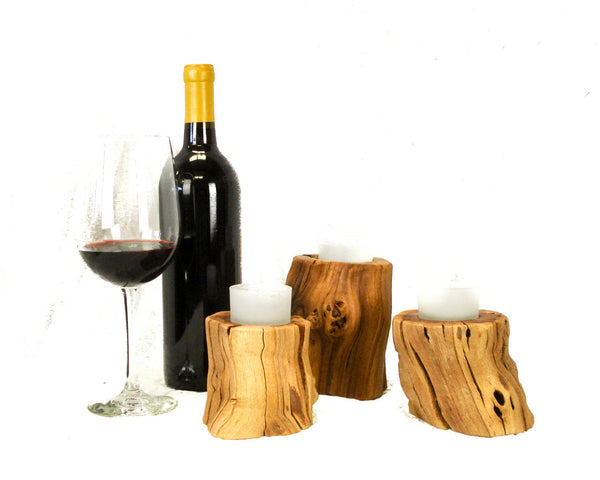 Solo - Single Old Vine Grapevine Candle Holder