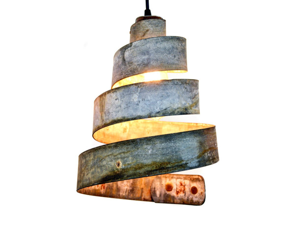 CORBA Collection - Lavaliere - Wine Barrel Ring Pendant Light