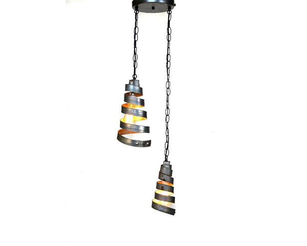CORBA Collection - Binate - Wine Barrel Chandelier Light