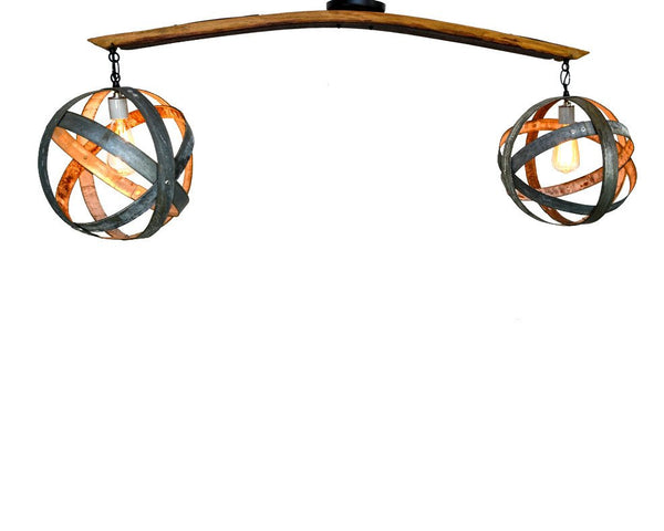 ATOM Collection - Dualize - Wine Barrel Chandelier