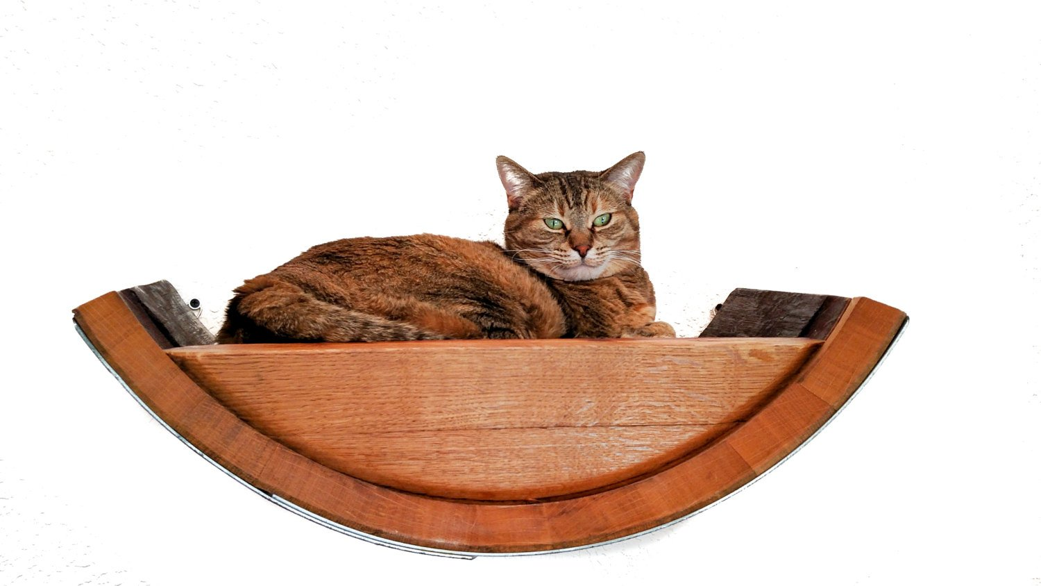 Pet Collection Birala Wine Barrel Hanging Cat Bed