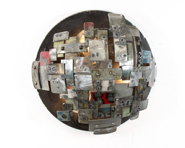 STUDIO Collection - Supernova - Wine Barrel Ring wall sconce