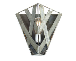 SAFARI Collection - Fajra - Wine Barrel Ring Wall Sconce