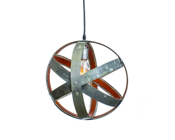 LEATHER & BARREL RING Collection - Runda - Pendant Light