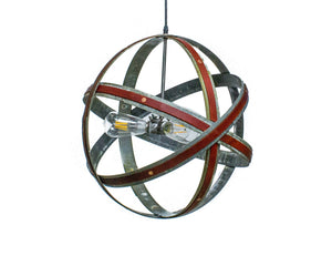LEATHER & BARREL RING Collection - Maapallo - Chandelier Light