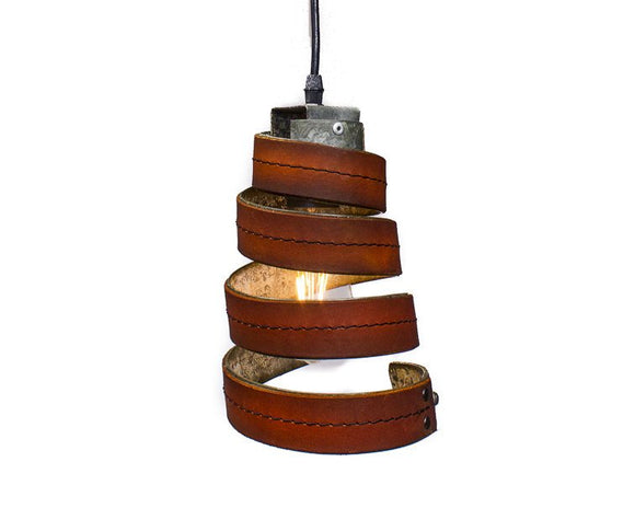 LEATHER & BARREL RING Collection - Keila - Pendant Light