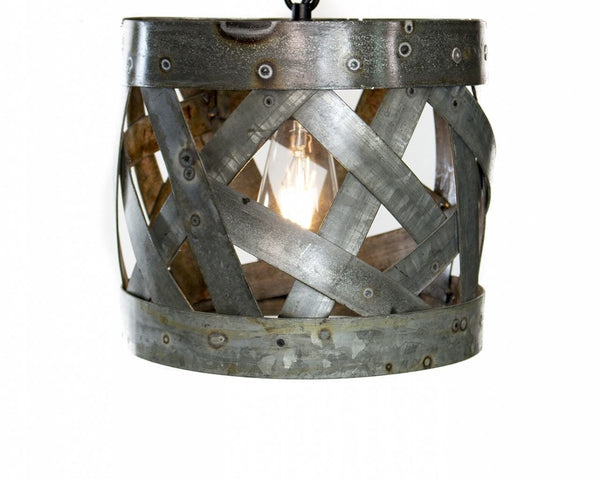 SAFARI - Varten - Wine Barrel Ring Pendant Light