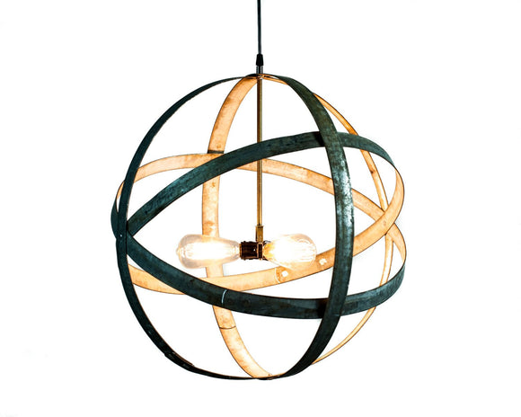 ATOM Collection - Premier - Wine Barrel Ring Chandelier