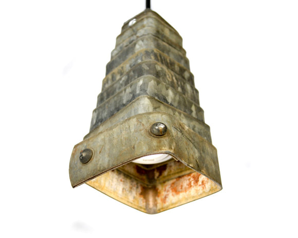 CORBA Collection- Cartouche - Wine Barrel Pendant Light Small Square