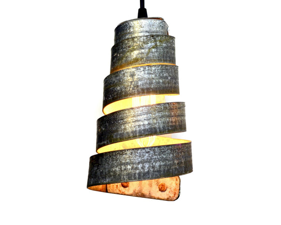 CORBA Collection - Sanna - Wine Barrel Ring Pendant Light