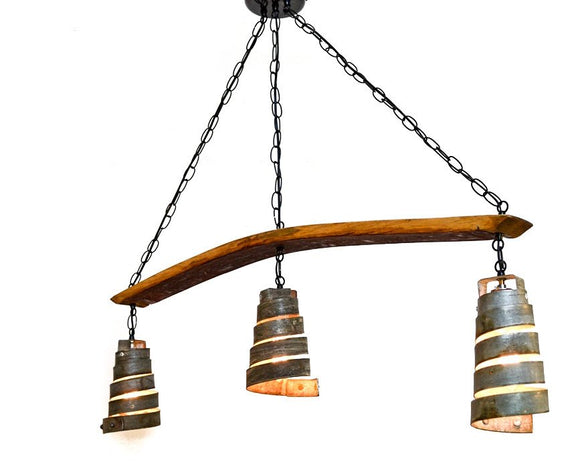 CORBA Collection - Hesperian - Wine Barrel Ring Chandelier