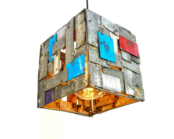 STUDIO Collection - Musadi - Wine Barrel Ring Pendant Light