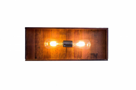 VINUM Collection - Geminus - Wine Barrel Vanity Light