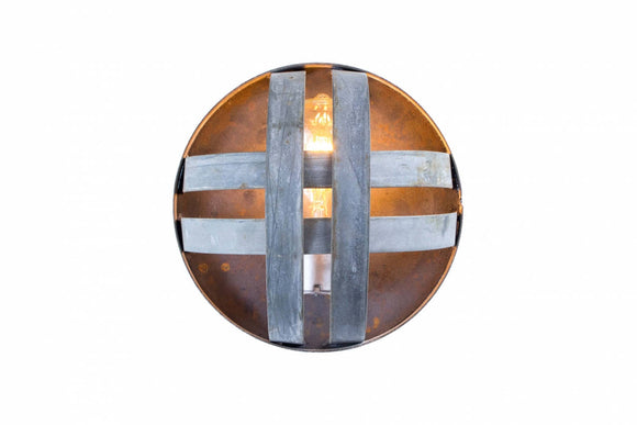 ATOM Collection - Pesini - Wine Barrel Ring Sconce Light