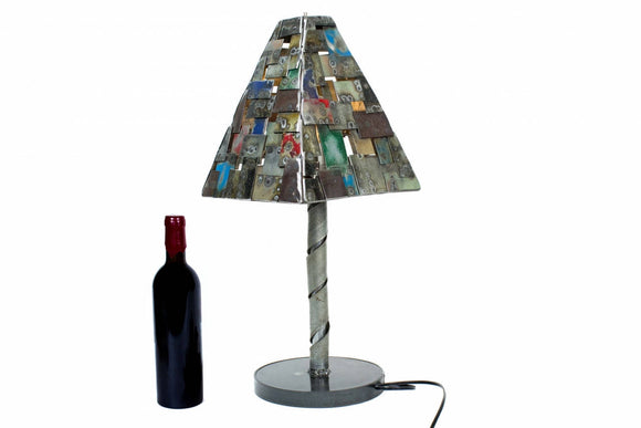STUDIO Collection - Piramindi - Wine Barrel Ring Table Lamp
