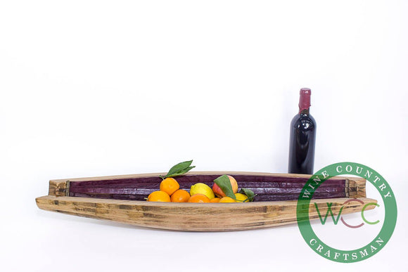 The KATRA 2 - Wine Barrel Fruit Tray or Platter