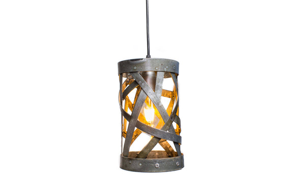 WIVA Collection - Boru - Wine Barrel Ring Pendant Light