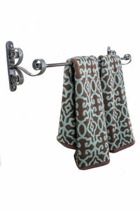 ORGANIZATION Collection - CURLS - Wine Barrel Ring Towel Bar