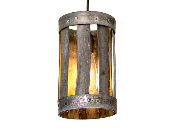LOFT Collection - Valec - Wine Barrel Ring Pendant Light
