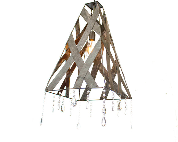 SAFARI Collection - Marau - Wine Barrel Ring Pendant Light