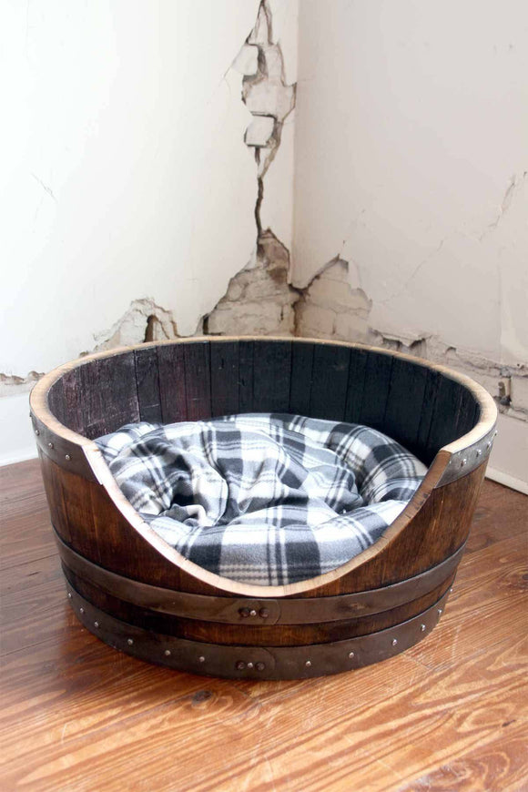 PET Collection - TORPOR - Wine Barrel Pet Bed