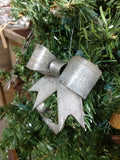 HOLIDAY - Jousi - Wine Barrel Ring Bow Ornament