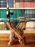 "VINYA Collection - ""Fiano"" - Old Vine - Grapevine Side Table"