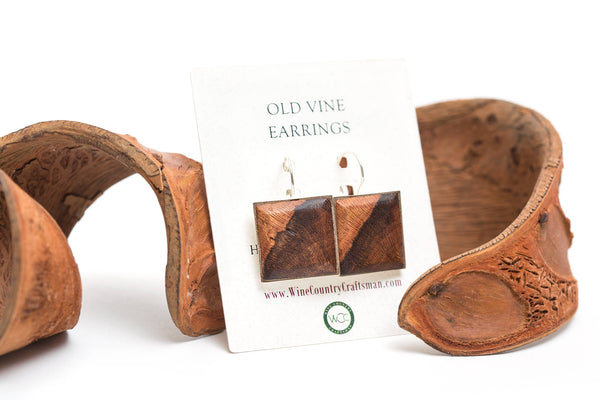 Old Vine Grapevine Earrings - Your Truly